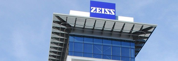 Zeiss Building Germany Oberkochen