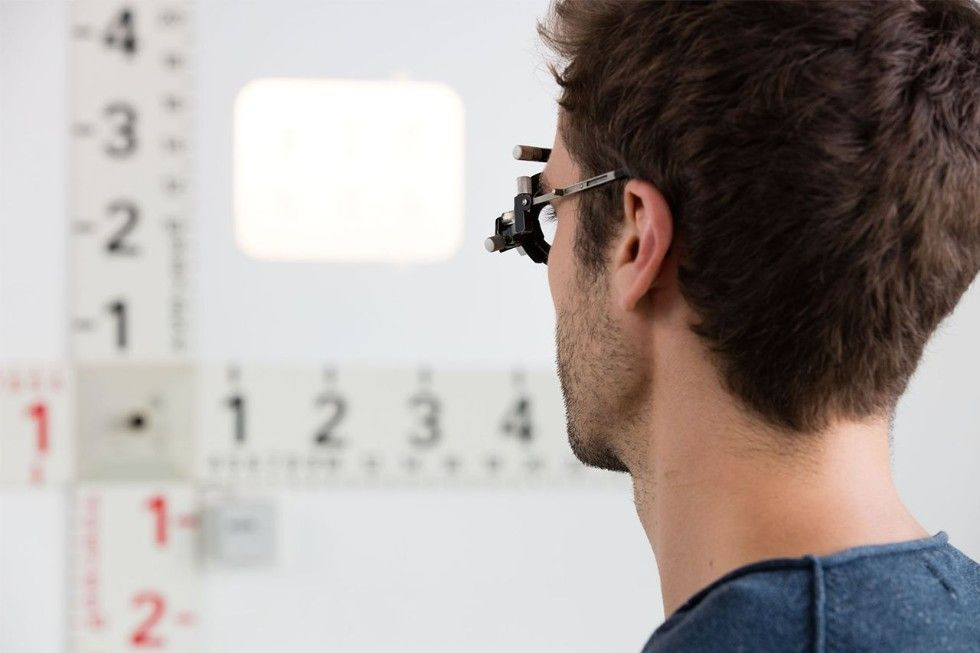 An eye examination might help determining the extent of astigmatism.